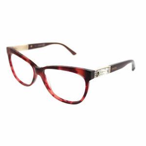 442a2965061b Swarovski Doris SK 5091 056 Red Havana Plastic Cat-Eye Eyeglasses ...