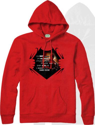 Deadpool Hoodie Not Saying I am Deadpool Hooded Jumper Marvel Comics Inspired