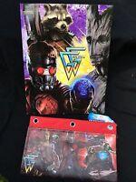 Guardians Of The Galaxy Portfolio Folder + Deluxe 3 Ring Pencil Case