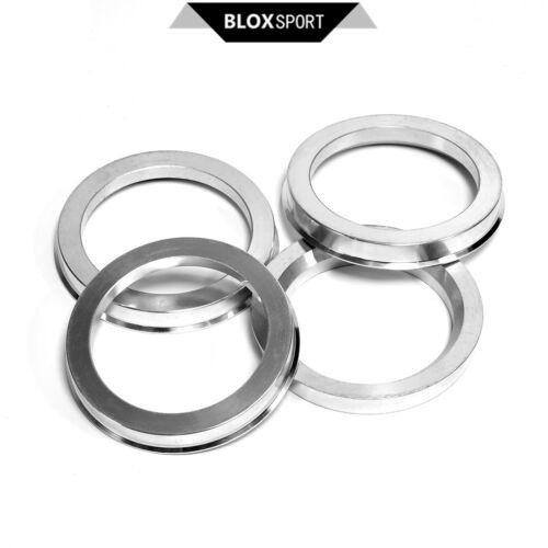 4pcs 66.5 to 57.1 for Mercedes Benz W203 W204 W205 Aluminum AL Wheel Hub Rings