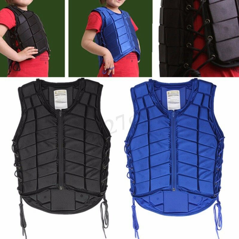 Kid Größes Horse Riding Equestrian Body Protective Safety Eventer Vest AU