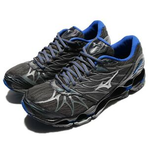 ea7aa32f548a Mizuno Wave Prophecy 7 Nova VII Grey Blue Men Running Shoes Trainers ...