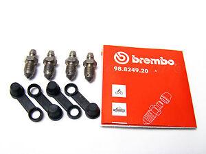 2x-Sets-Of-Genuine-Porsche-Brembo-Caliper-Bleed-Nipples-Screws-93035191900