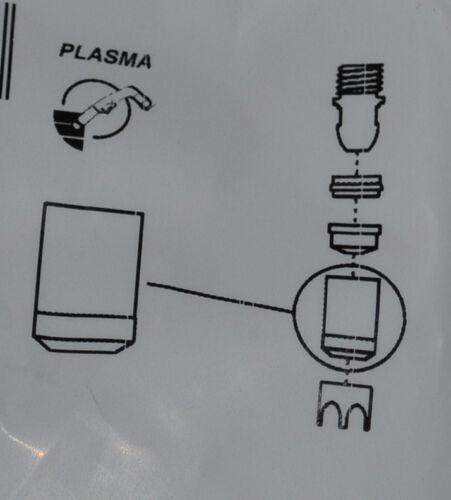 Aussenschutzkappe aussenschutzdüse s45 TELWIN plasma 31 ecc ORIGINALE TRAFIMET