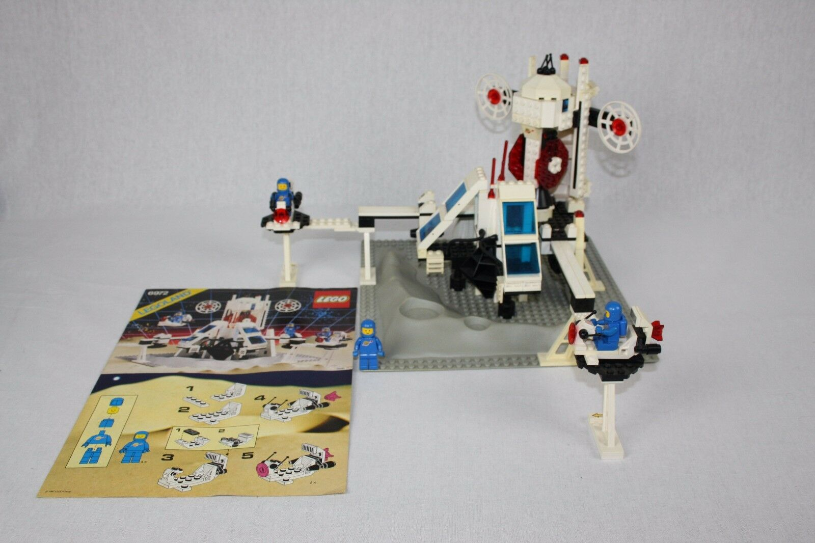 LEGO ® 6972 polaris space Lab station spatiale laboratoire Legoland Legoland Legoland Clssic spatiale rare 851082