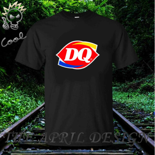 New DQ Dairy Queen fast food restaurant t-shirt,Chose Color