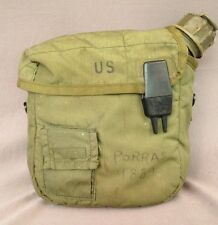 Vietnam US Army USMC M-1967 2 Quart Collapsible Canteen Cover 2nd pattern 1972
