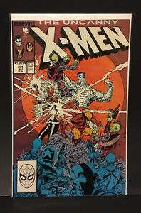 UNCANNY-X-MEN-229-1st-Appearance-Reavers-Marvel-Comics-Marc-Silvestri-1988-VF-NM