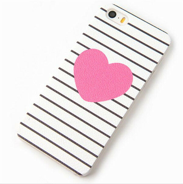 """Cute Thin Patterned Hard Back  Case Cover Skin For Apple iPhone 5 5S 5C 6 4.7"""""""