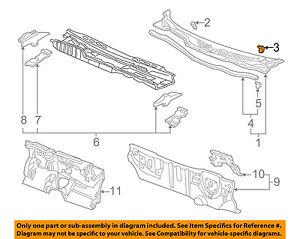 20x Honda Civic Del Sol CR-V Acura Integra Rear Hood Cowl Weatherstrip Clip