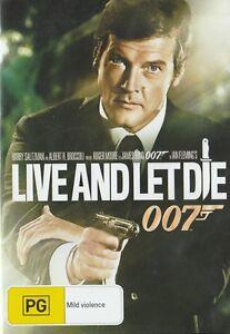 James-Bond-LIVE-amp-LET-DIE-Brand-New-but-UNSEALED-Region-4-UPC-9321337143354