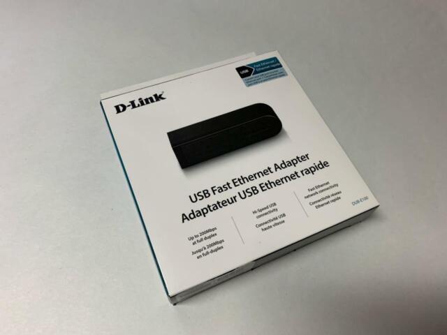 DRIVERS: D-LINK DUB E100