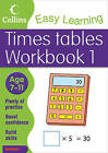 Times Tables Workbook 1: Age 7-11: Bk. 4: English by Collins Easy Learning, Simon Greaves (Paperback, 2011)