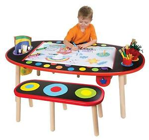 Amazing ALEX Toys   Artist Studio Super Art Table With Paper Roll 711W