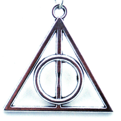 Novelty for Suit Gift Present Harry Potter Deathly Hallows Keyring
