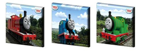 "12/"" à partir de £ 11.99 6 /"",8/"",10 /"" Thomas the tank engine-Canvas Photos-free post"