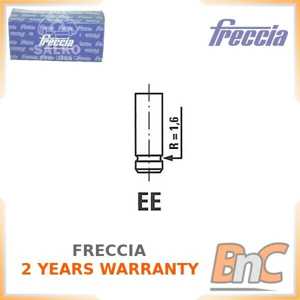 4x R6334//RNT FRECCIA ENGINE EXHAUST EX VALVE  I NEW OE REPLACEMENT