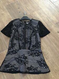 Size Top 8 Coast Lace Black x6gwqWRZW8