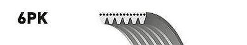 Gates Ventilador del alternador correa de transmisión en V 6pk1540 -NUEVO-