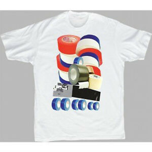 Adult-White-Comedy-Movie-Project-X-Party-Duct-Tape-Design-Costume-T-shirt-Tee