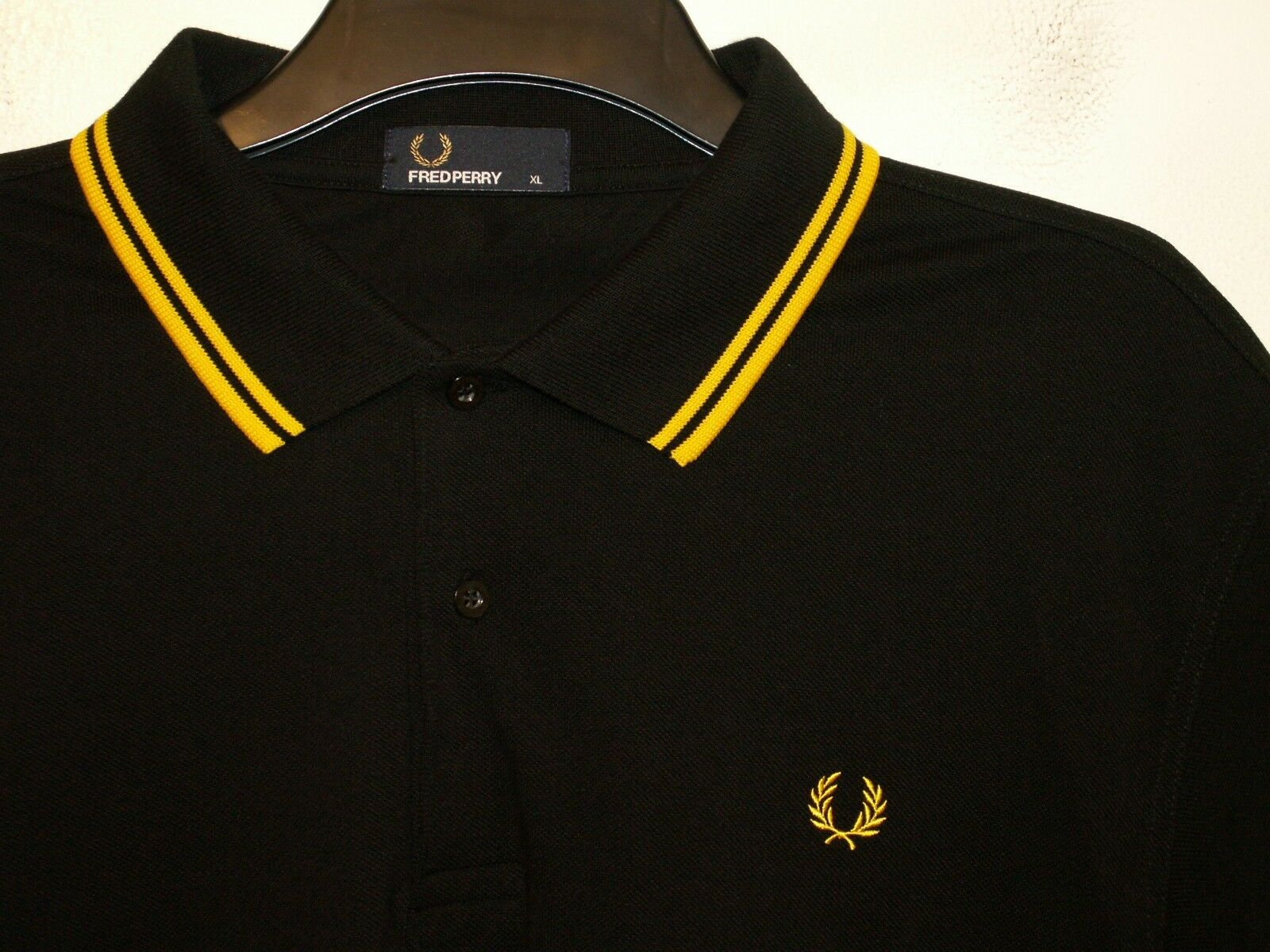 FRED Perry Twin Tipped Polo T-shirt M1200 Extra Large XL