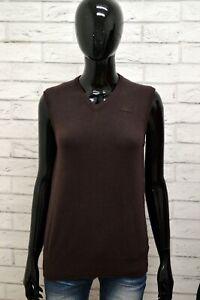 Maglione-KAPPA-Donna-Taglia-S-Maglia-Felpa-Pullover-Sweater-Smanicato-Cashmere