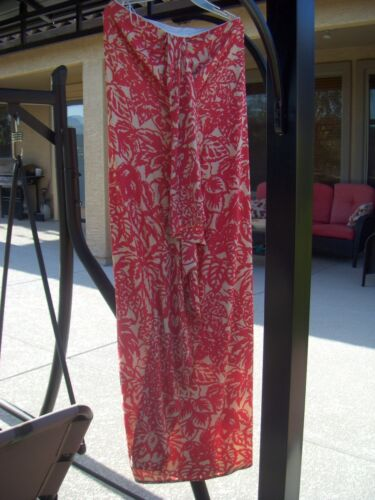Balenciaga Ruffle Strapless Rayon Maxi Dress Size