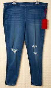 65b23a1eff3ee Image is loading JENNIFER-LOPEZ-Jeggings-STRETCH-Leggings-Skinny-Jeans-Plus-