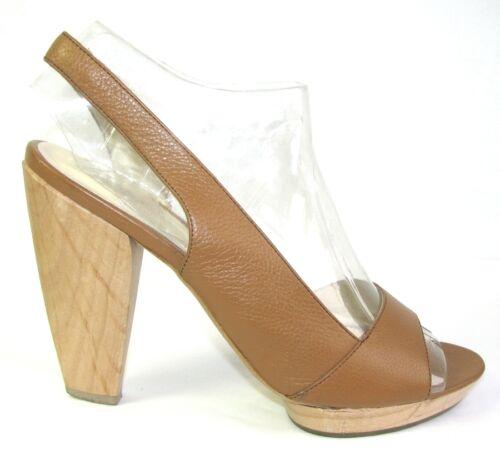 Shoes pelle 12 Condizioni 38 Tutti Camel marrone Cm molto sandali i buone Eden in 0qdHwx0