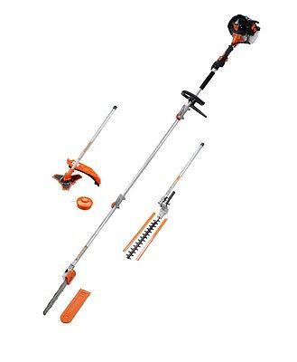12.7cm1 Petrol Long Reach 52cc Hedge Trimmer Brush Cutter Pole Saw 12.7cm 1