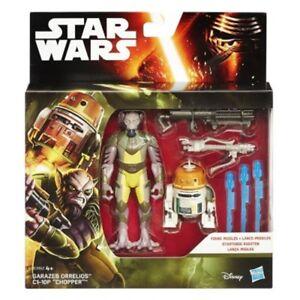 Hasbro-Lot-De-2-Personnages-Stars-Wars-Garazeb-Orrelios-Et-C1-10p-Chopper
