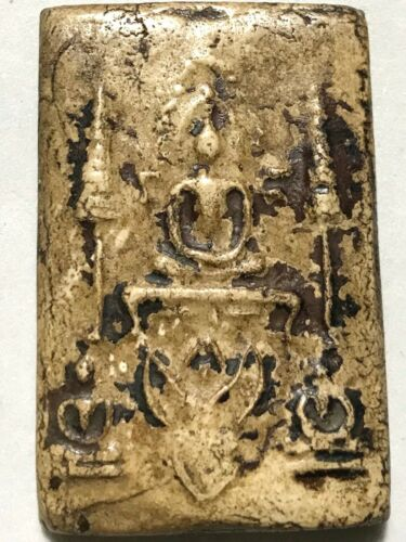 PHRA SOMDEJ SONGKRUT//ON GARUDA LP RARE OLD THAI BUDDHA AMULET PENDANT MAGIC#6