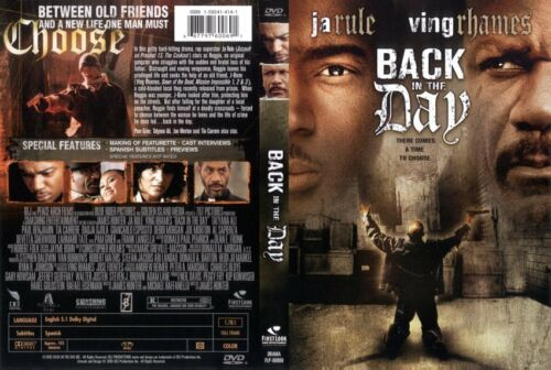 1 of 1 - NEW & Sealed Back in the day [DVD]
