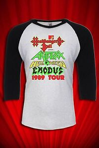 Headbangers-Ball-Tour-1989-Tour-JERSEY-T-SHIRT-FREE-SHIP-USA-Anthrax-Helloween