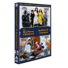 THE RAILWAY CHILDREN / SWALLOWS AND AMAZONS - NEW / SEALED DVD - UK STOCK