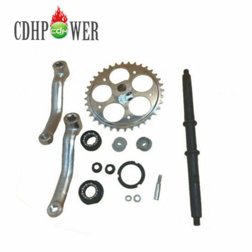 36T Wide Crank Assembly-3pcs for 2 Stroke and 4 Stroke Motor Motorized Bicycle