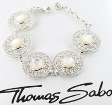 Thomas Sabo Ornament Armband A1187-030-14, 925/-Sterling Silber,UVP € 698,00 NEU