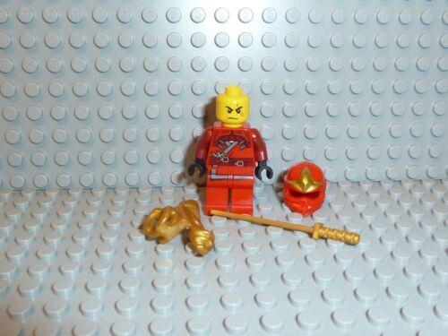 LEGO® Ninjago 1x Figur Kai ZX rot mit Waffe njo032 9561 9441 9449 NEU F635