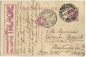 Cartolina-Postale-c25-Pubblicitaria-Ciocccolato-al-latte-Talmone-1922