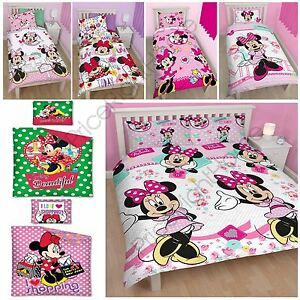 MINNIE-MOUSE-DUVET-COVERS-KIDS-GIRLS-BEDDING-SINGLE-DOUBLE-JUNIOR