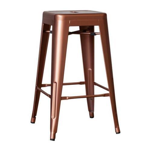 Snug Tolix Style Industrial Metal Dining Bar Stool 86cm 11 colours 2 4