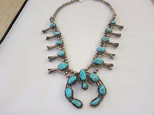 Horseshoe Turquoise Necklace