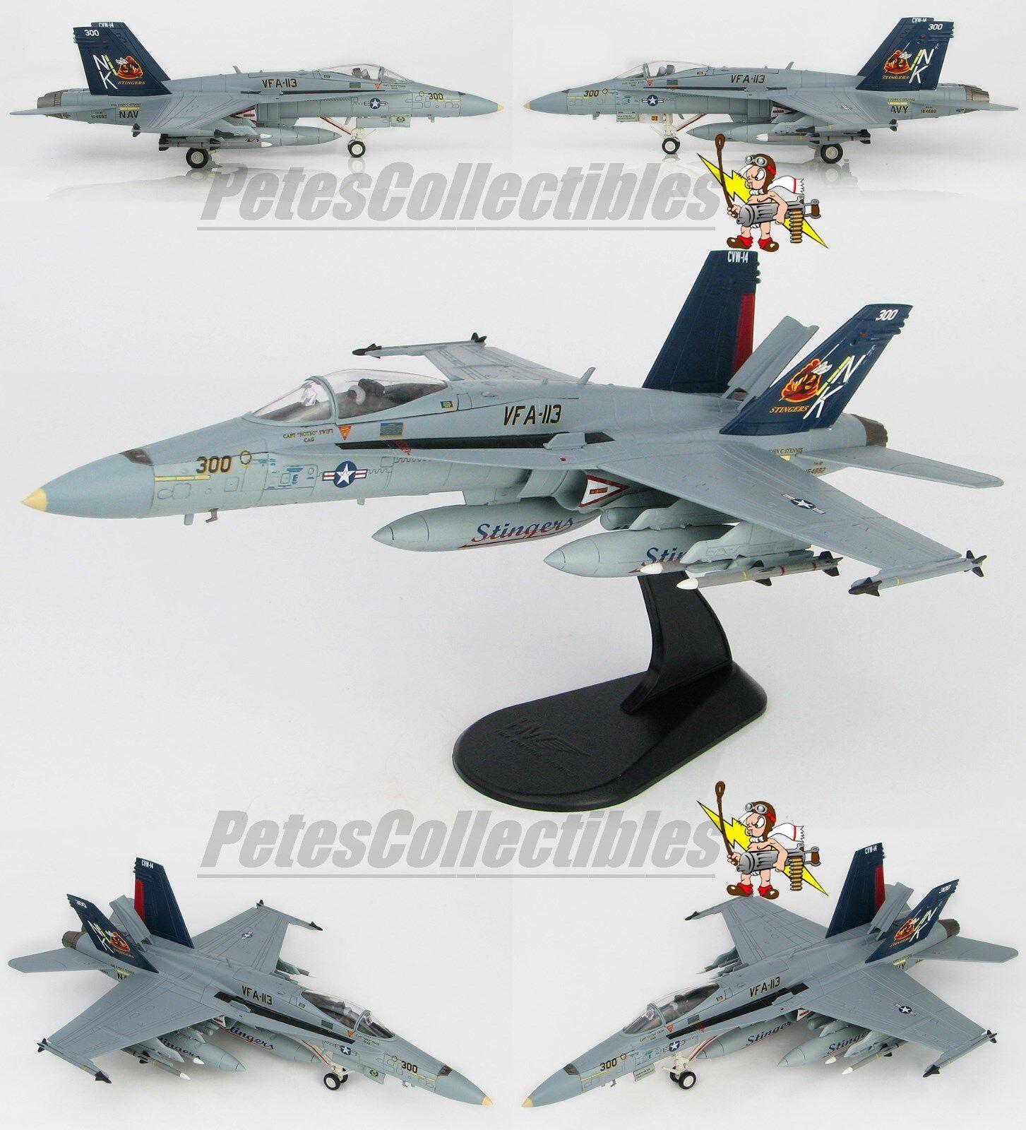 HOBBY MASTER HA3540 HA3540 HA3540 McDonnell Douglas F A-18C Hornet VFA-113 Stingers BuNo164682 233856