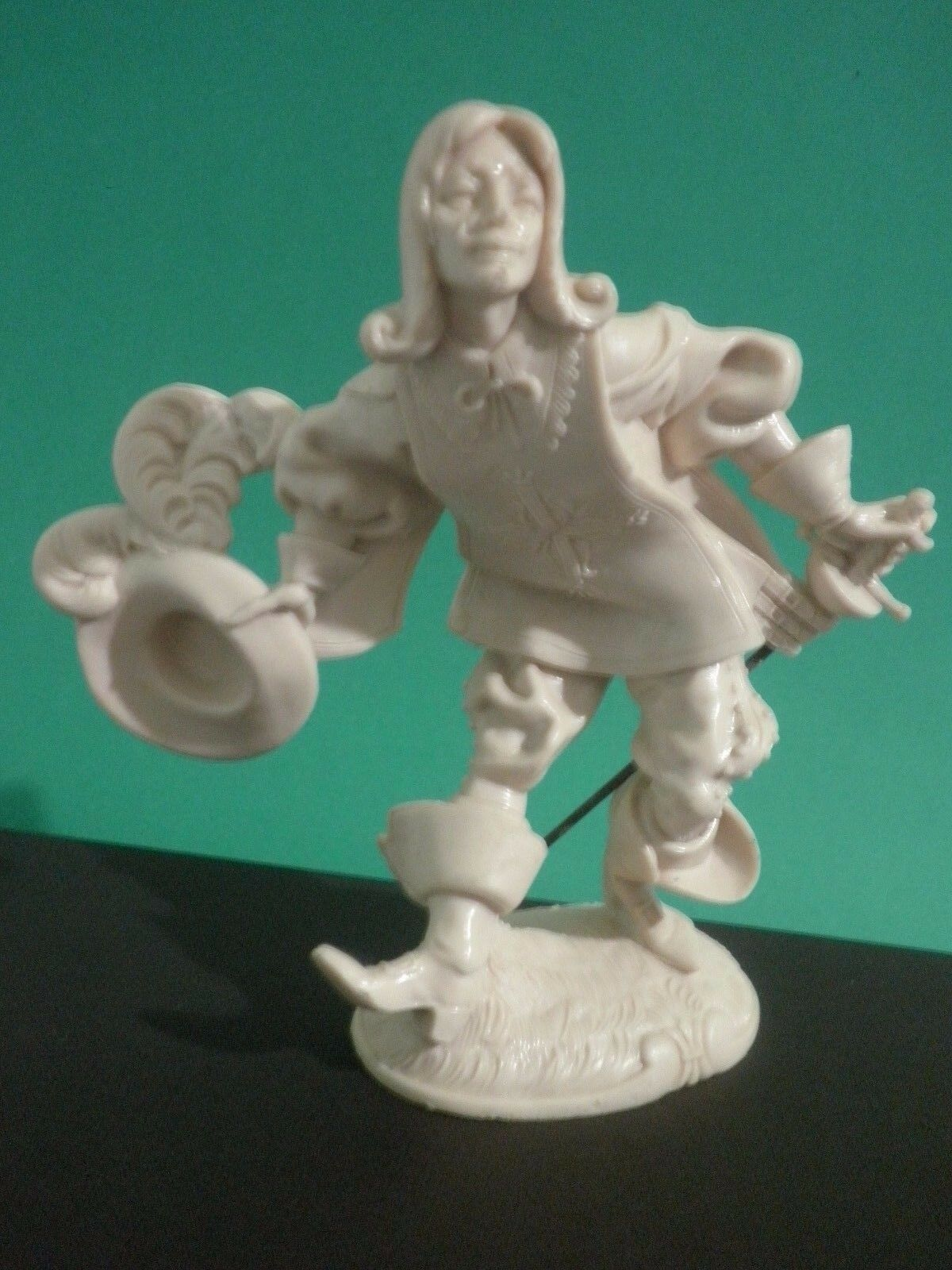 MOSCHETTIERE Figurino Rarissimo  Alto 16 cm. Da Maestro Elio Simonetti