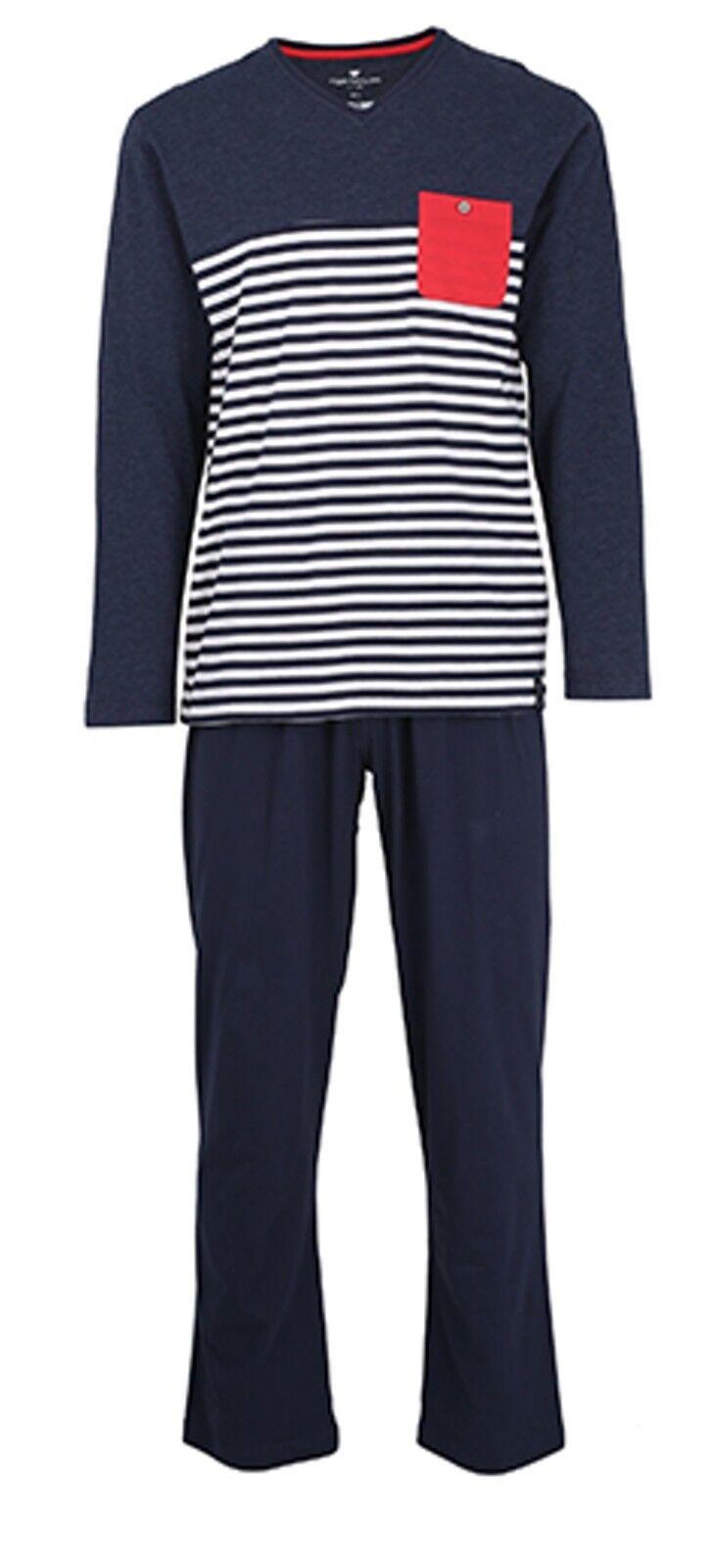 Tom Tailor Herren Schlafanzug Pyjama 70970 632