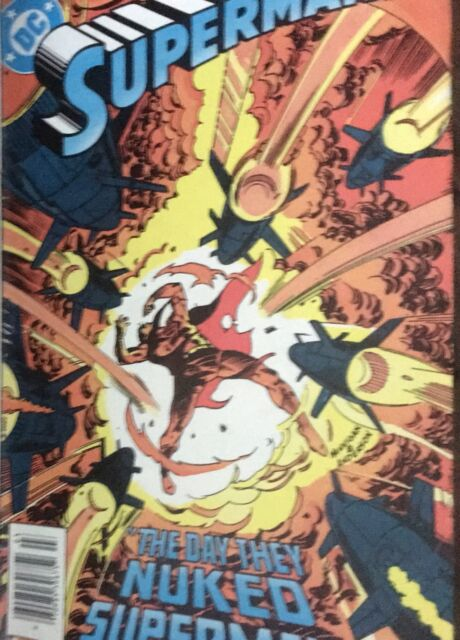 DC Comics-The Day they Nuked Superman March 1984 #393 - Fast Shipping Worldwide!