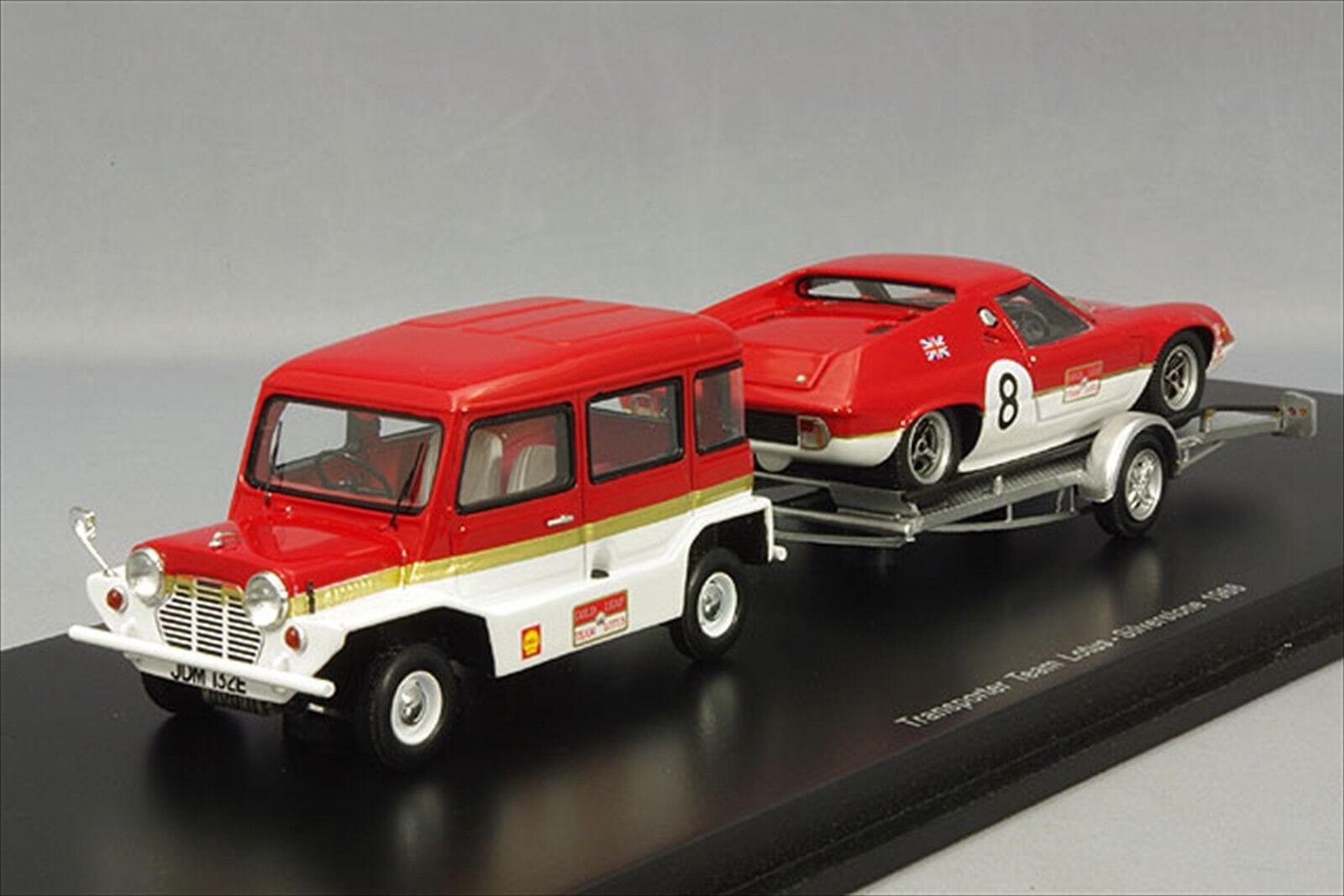 Nueva Colección PLANEX Spark  Mini Moke & Lotus 47 Hoja De Oro Japan FS