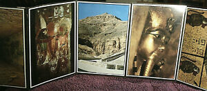 Postcard-Strip-of-16-Cards-From-Egypt-Unposted-FREE-POSTAGE