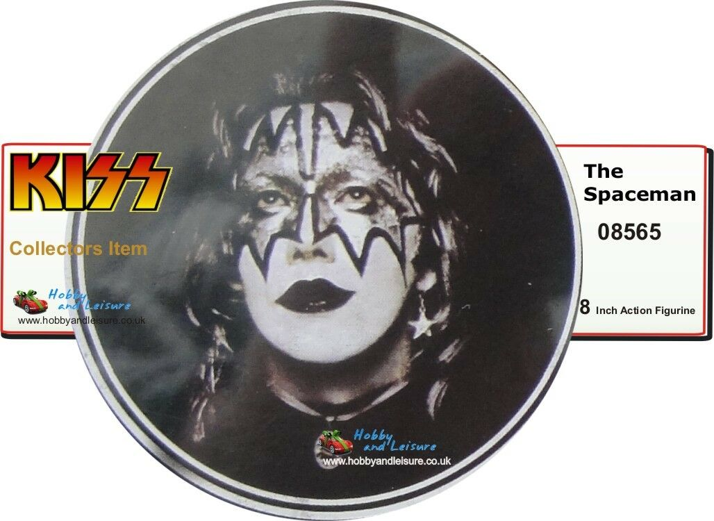 Kiss The The The Spaceman, 8 Inch Collectable Poseable Figure, Series II , 08565 865191