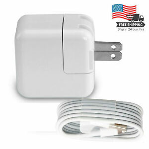 12W-Power-Adapter-Wall-Charger-US-Plug-for-Apple-iPad-2-3-Air-1-2-iPhone-amp-Cord